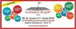 Enfin un Salon consacré au déstockage de matériel de golf! - Un regard féminin sur le Golf! | actualité golf - golf des vigiers | Scoop.it