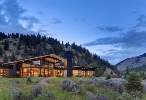 Extremely Beautiful View of the River Bank House by Balance Associates Architects | Design | News, E-learning, Architecture of the future at news.arcilook.com | Architecture | Scoop.it