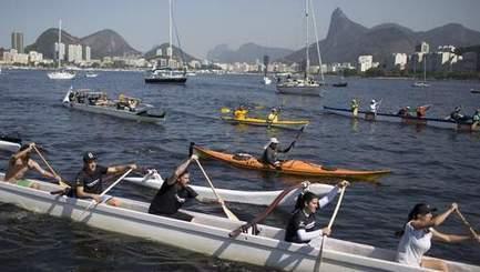 Manifestation en bateau à Rio pour dénoncer la pollution | Sport et développement durable | Scoop.it