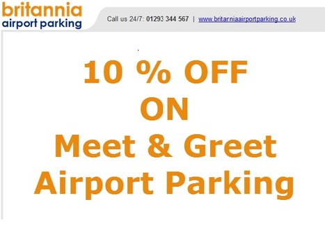 Cheap Gatwick Valet Parking: Pre-book Airport Parking Gatwick Online   Britanniaairportparking   Scoop.it