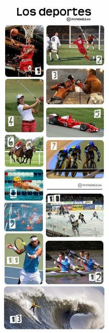 Vocabulario de los deportes: ProfeDeELE.es | Las TIC en el aula de ELE | Scoop.it
