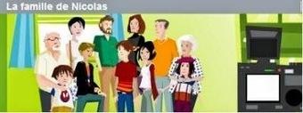 Fle-Xallas: La famille | FLE enfants | Scoop.it