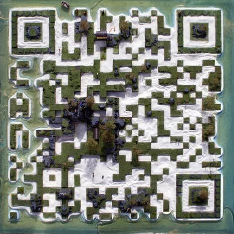 QR Code 1:87 scale-model island « QR Code Artist | CAP IMAGE | Scoop.it