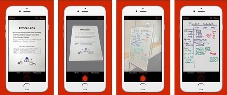 Tip: Escanear Documentos con tu Smartphone, con Office Lens (iOS / Android) - arturogoga | Educacion, ecologia y TIC | Scoop.it