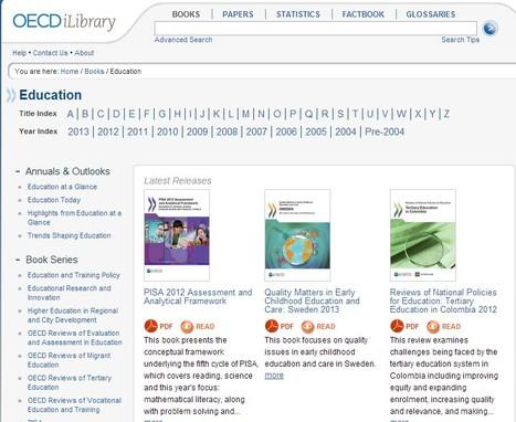 All book in theme Education - OECD iLibrary | Uso inteligente de las herramientas TIC | Scoop.it