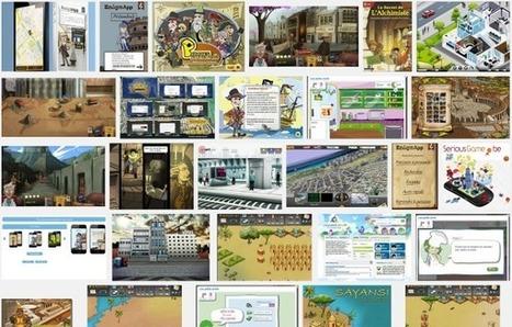 SeriousGame.be vous offre une base de données éducative | Innovations numériques en bibliothèques (sections Jeunesse) | Scoop.it