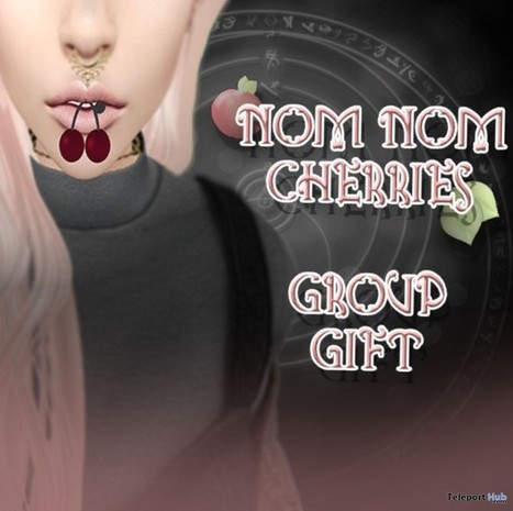 Nom Nom Cherries Group Gift by Peaches | Teleport Hub - Second Life Freebies | Second Life Freebies | Scoop.it