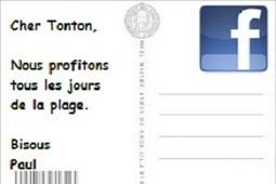 Facebook a tué la carte postale - 01Net - 01net | Community Management et Curation | Scoop.it