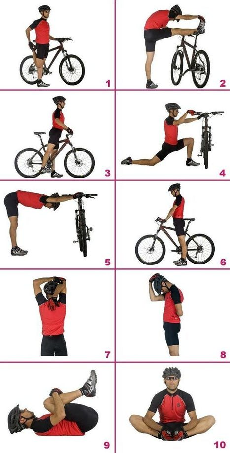 Estiramientos básicos para antes y después de entrenar | btt mantenimiento | Scoop.it