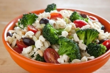 Warm Orzo Salad with Broccoli and Tomatoes | The Butter | Scoop.it