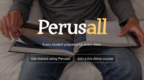 Perusall   Keeping up with Ed Tech   Scoop.it