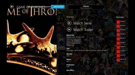 TV Series/Unlimited – Windows Apps on Microsoft Store | MOVIES VIDEOS & PICS | Scoop.it