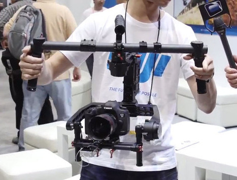 DJI Ronin Gimbal, H3-3D, Phantom Vision 2 & S1000 - NAB 2014 from NextWaveDV | Quadcopters | Scoop.it
