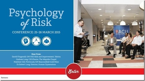 Think Different, Act Differently in Risk – Safety Risk | Safety Risk | Scoop.it