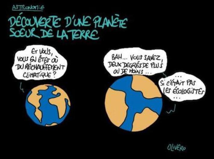 Découverte d'une planète soeur de la Terre   Baie d'humour   Scoop.it