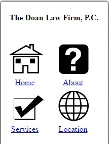 Mobilocl.com :: Mobile site for The Doan Law Firm, P.C., 1 Riverway Suite 2325, Houston, TX, 77056, 7138694747 | Law Firm of Brian A. Dasinger, | Scoop.it
