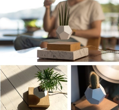 Innovative Planters Let You Grow a Levitating Garden That Rotates in Mid-Air | What's new in Design + Architecture? | Scoop.it