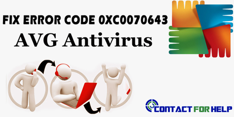 How to Fix the Error 0xC0070643 in AVG Internet Security? | Costomer Support and Services | Scoop.it