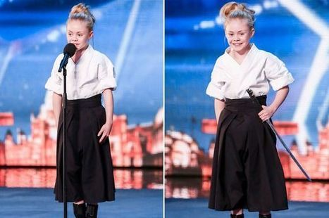 BGT sword-wielding kung fu girl aged 9 is already a HOLLYWOOD star | Tang Soo Do | Scoop.it