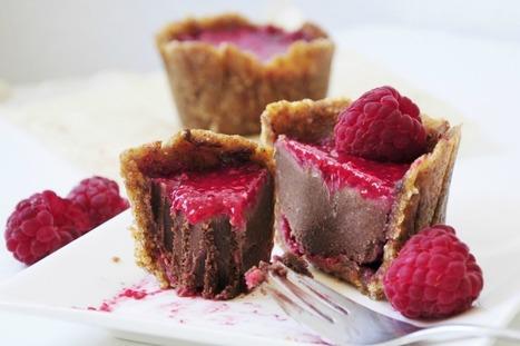 Petite Chocolate Raspberry Cakes [Vegan, Gluten-Free] | Chocolate Recipes & Finds | Scoop.it