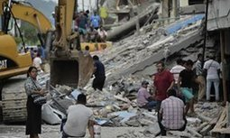 Ecuador earthquake death toll passes 400 with many still trapped | AP HUMAN GEOGRAPHY DIGITAL  STUDY: MIKE BUSARELLO | Scoop.it