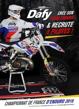 Championnat de France d'Enduro: Dafy recrute 5 pilotes | MX en Lorraine | Scoop.it