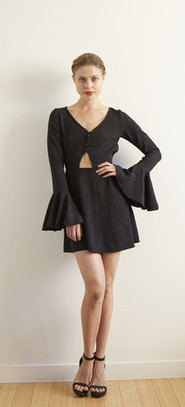 Printed Two Piece Dress Set | zxxcvxcv | Scoop.it