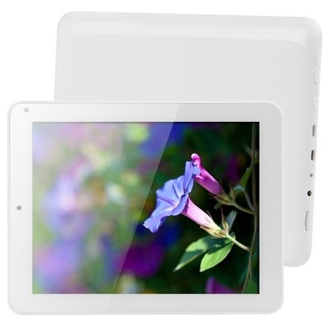 """Cube U23GT 8"""" Android 4.1 Quad-Core RK3188 Cortex A9 1.8GHz Tablet PC (1GB RAM / 16GB ROM) - White 