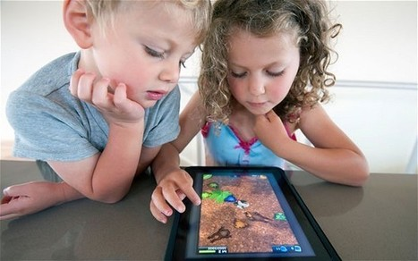 iPads could be good for toddlers because they are more like traditional play | ciberpsicología | Scoop.it