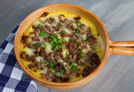 Baked Polenta With Sausage & Mushrooms | FoodieDoc says: | Scoop.it