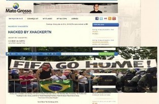 Hacking de la Coupe du monde : les Anonymous ouvrent le score | Cyber warfare | Scoop.it