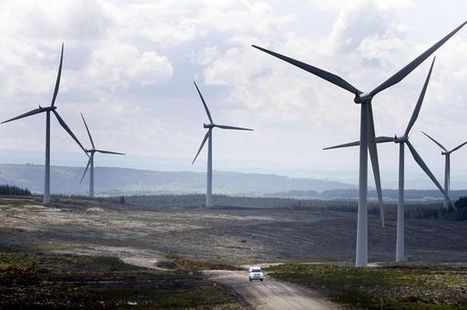 Too windy for wind farms: Energy firms get £5m to close turbines | Business | Scoop.it