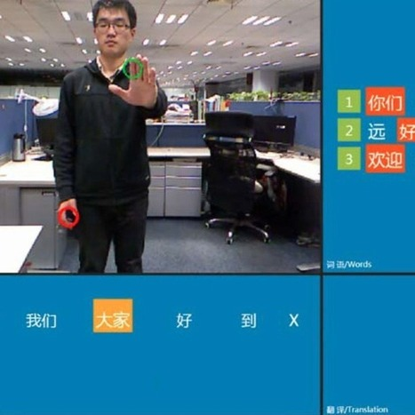 Microsoft Is Teaching Kinect to Understand Sign Language [VIDEO] | Just Kinect'ing | Scoop.it