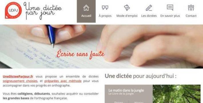 Une dictée par jour. Des dictées en ligne pour améliorer l'orthographe – Les Outils Tice | TIC et TICE mais... en français | Scoop.it