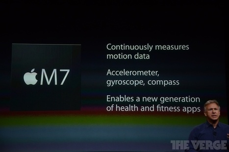 iPhone 5s Includes New 'M7' Motion Coprocessor for Health and Fitness Tracking | Gadgets for Fitness | Scoop.it