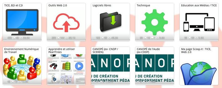 Mon Pearltrees spécial TICE   TIC et TICE mais... en français   Scoop.it