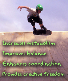 Benefits of Skateboarding | Skateboarding | Scoop.it