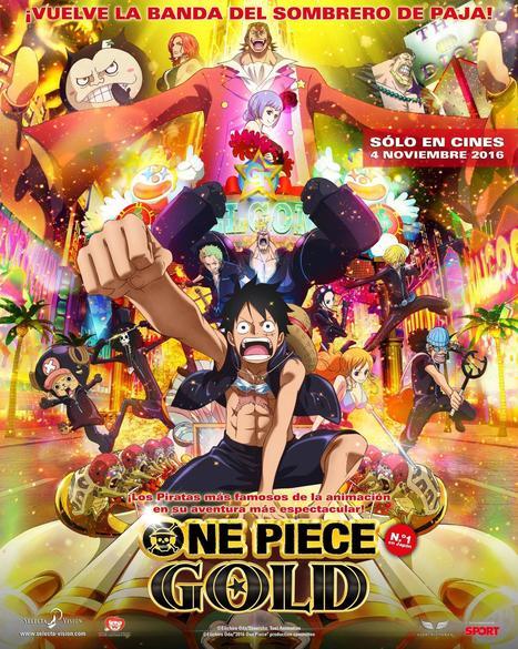 ¡Ya disponible el trailer en castellano de One Piece Gold! | Noticias Anime [es] | Scoop.it