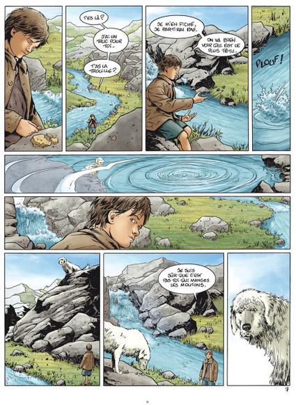 Belle et Sébastien adapté en bande dessinée | A propos de la bande dessinée | Scoop.it