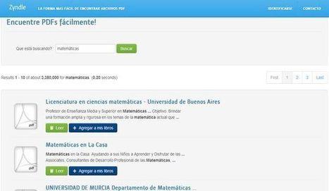 Zyndle, poderoso buscador de documentos PDF | TECNOLOGÍA_aal66 | Scoop.it