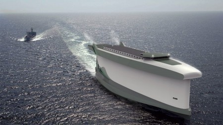 Vindskip ship concept uses the hull as a sail | GizMag.com | @The Convergence of ICT & Distributed Renewable Energy | Scoop.it