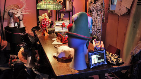 Anna Piaggi's 'Hat-0logy' | Vintage Fashionista | Scoop.it