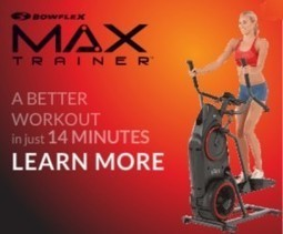 New Bowflex Max Trainer – Interval Cardio Workout | Exercise Equipment and Fitness Products | Scoop.it