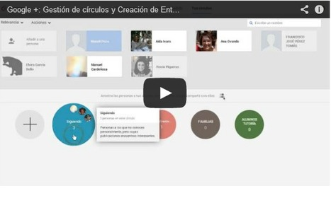 Un recurso muy potente: Google + | pedagogía | Scoop.it