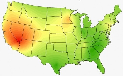 Heat Maps Show the Surprising Musical Preferences of the United States | Le It e Amo ✪ | Scoop.it