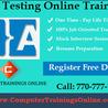 Software QA Testing Online Training