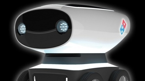 Domino's serves up pizza delivery robot | Cool techie stuff | Scoop.it