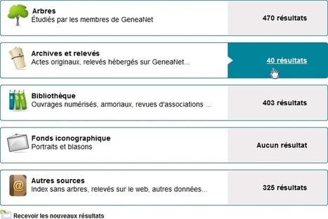 4 millions de relevés d'état civil gratuits sur GeneaNet ! - Le Blog ... | Histoire Familiale | Scoop.it