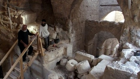 Entryway to Herod's hilltop palace uncovered near Jerusalem | Jewish Education Around the World | Scoop.it