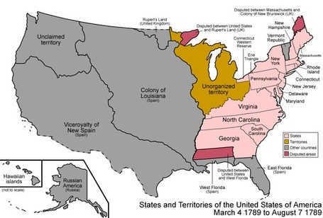 How The USA Expanded In One Mesmerizing Animated GIF | Geography Education | Scoop.it